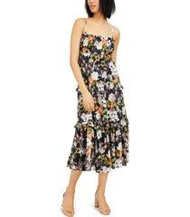 inc sleeveless floral maxi dress, created for macy's