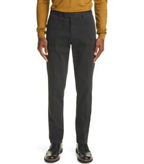 boglioli garment dyed stretch cotton pants, size 32 us in midnight at nordstrom