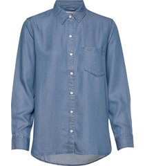 the ultimate bf shirt medium a overhemd met lange mouwen blauw levi´s women