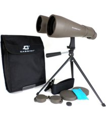cassini 70mm 15 power day and night binocular with massive objective lenses and table top tripod and case