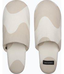 lokki slippers slippers tofflor beige marimekko home