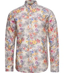 harvey button down shirt skjorta casual multi/mönstrad morris