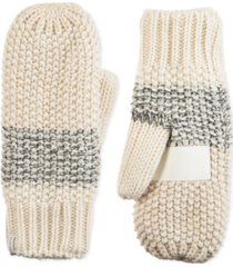 isotoner signature women's acrylic knit lurex mittens