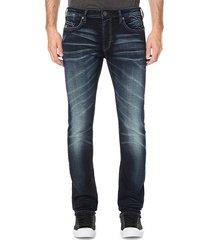buffalo david bitton men's max-x skinny jeans - indigo - size 44 30