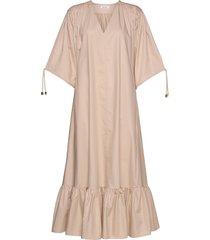 rodebjer dakota maxi dress galajurk roze rodebjer