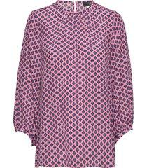 afosi blouse lange mouwen roze weekend max mara