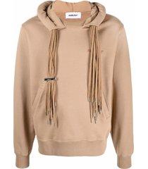 ambush beige cotton hoodie