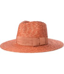 women's brixton joanna straw hat - orange