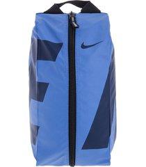 guayera azul-negro nike alpha adapt shoe bag