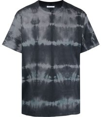 john elliott tie dye-print short-sleeved t-shirt - grey