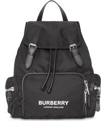 burberry the medium rucksack backpack - black