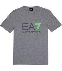 ea7 emporio armani t-shirt grijs / taupe-s