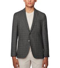 boss men's haylon slim-fit jacket
