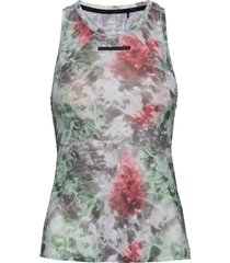 vent mesh singlet w t-shirts & tops sleeveless multi/mönstrad craft