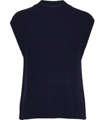 elisha knit waistcoat vests knitted vests blå norr