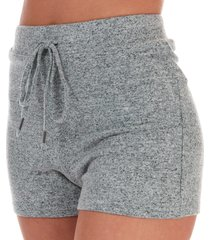 womens brushed lounge shorts