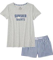 pigiama estivo (grigio) - bpc bonprix collection