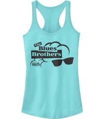 fifth sun s brothers sunglasses classic logo ideal racer back tank