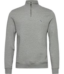 1/4 zip sweatshirt sweat-shirt tröja grå original penguin