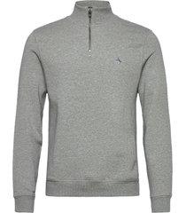1/4 zip sweatshirt sweat-shirt tröja grå original penguin