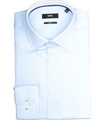 hugo boss overhemd joram lichtblauw sf 50427967/450