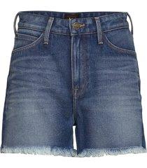 mom short shorts denim shorts blå lee jeans