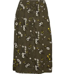 sira 465 knälång kjol grön ze-ze