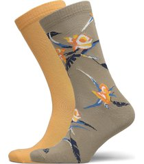 levis regular cut tropical print 2p underwear socks regular socks beige levi´s