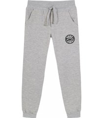 pantalon de buzo spiderman icon gris marvel