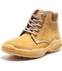 botas amarillo viola industrial