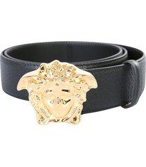 versace palazzo belt with medusa logo