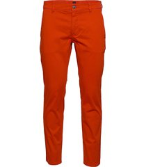 schino-slim d chinos byxor orange boss