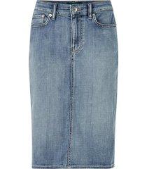 jeanskjol curvy daniela shirt