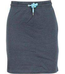 blauw only onlpetra short skirt aop swt rok