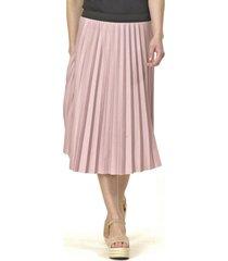 falda plizada rosa bous