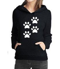 moletom criativa urbana 4 patas love pet dog