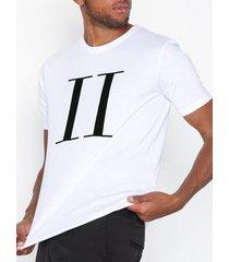 les deux encore t-shirt t-shirts & linnen vit/svart