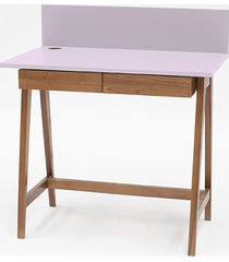 biurko luka dębowe 110x50cm z szufladą