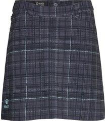 ilo women's skort kort kjol grå halti