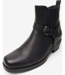 bota ignacio black chancleta