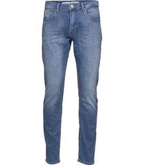 j s k2615 lt. slimmade jeans blå gabba