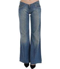 low waist flared denim pants jeans