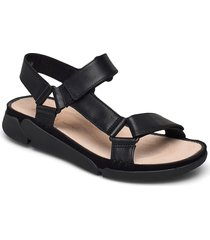 tri sporty shoes summer shoes flat sandals svart clarks