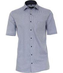 casamoda heren overhemd oxford korte mouwen comfort fit