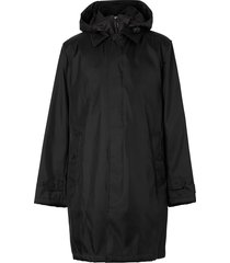 burberry detachable warmer car coat - black