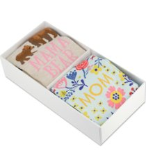 hot sox 2-pk. mom socks giftbox