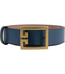 givenchy leather belt with buckle