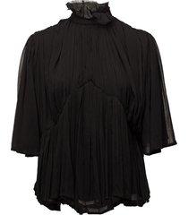 day heshe blouse lange mouwen zwart day birger et mikkelsen