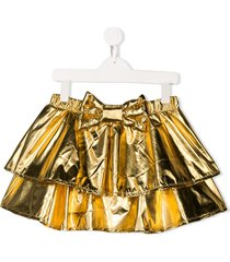wauw capow by bangbang fancy skirt - gold
