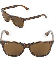 54mm polarized wayfarer sunglasses